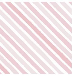 hand drawn diagonal grunge stripes of pink vector image