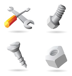 Icons for tools vector