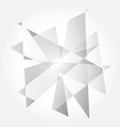 Modern gray diagonal abstract background vector