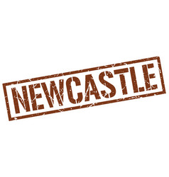 Newcastle brown square stamp vector