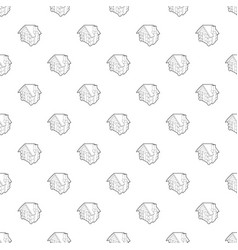 small hut pattern seamless vector image