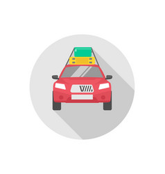 taxi icon sign symbol vector image