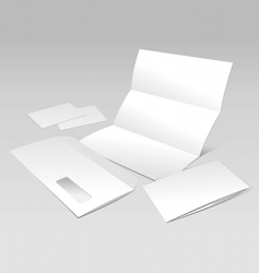 documents template vector image vector image