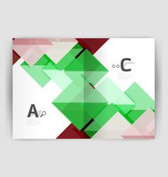 Print template modern elegant background triangle vector