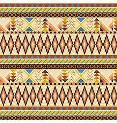 Tribal ethnic seamless stripe pattern vector image