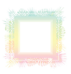 abstract template with pastel gradient and vector image vector image