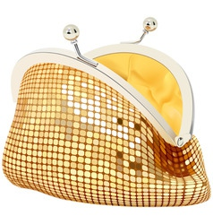 small purse vector image