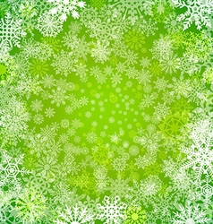 Abstract green christmas background with vector