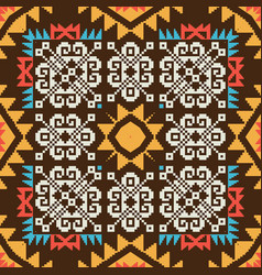 abstract ornamental pattern vector image
