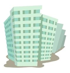 Building icon cartoon style vector image