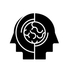 collective opinion - thinking icon vector image