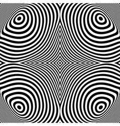 Design monochrome ellipse movement background vector