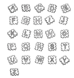 font Converted vector image