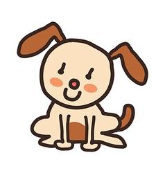 Icon dog vector