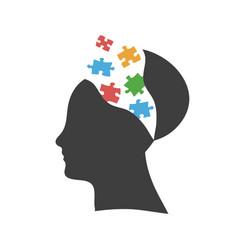Mind exploding ideas open mind new ideas concept vector