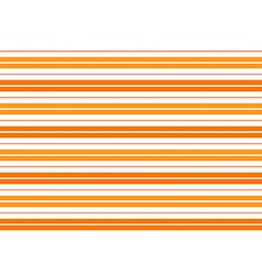 Orange White Stripes Background vector image
