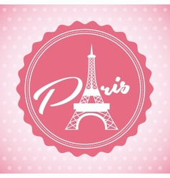 paris city vector image