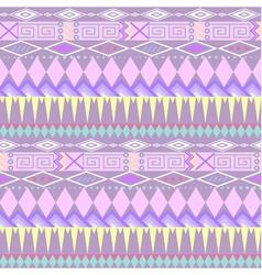 Tribal ethnic seamless stripe pattern vector image