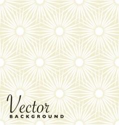 beige floral explosion vector image