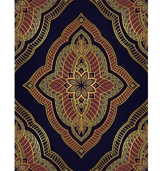 Oriental ornament for carpet vector image vector image