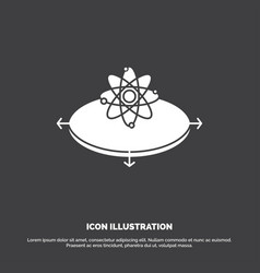 business concept idea innovation light icon glyph vector image