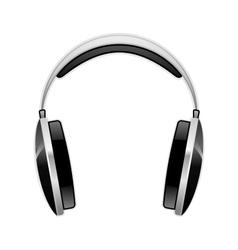 headphones 1 vector image