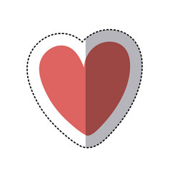 heart icon stock image vector image