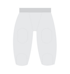 Isolated sport uniform vector