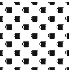 Metal cup pattern seamless vector