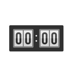 Scoreboard icon flat style vector