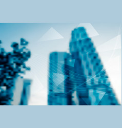 Abstract blur background business office vector
