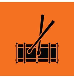 Drum toy ico vector image
