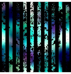 Grunge vertical strips on black background vector