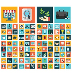 Miscellaneous web design icons vector