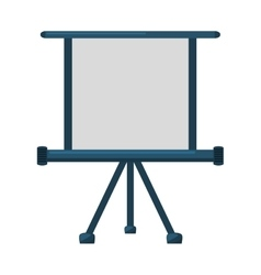 paper board training isolated icon vector image