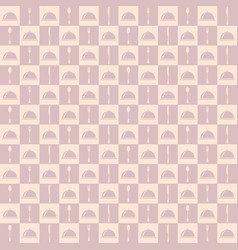 restaurant menu seamless pattern background vector image