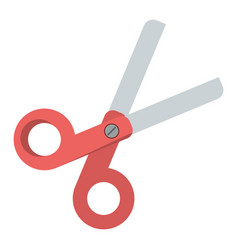 scissors school utensil icon vector image