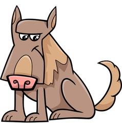 Sheep dog cartoon vector