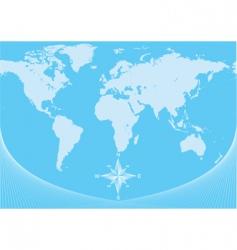 map bk vector image