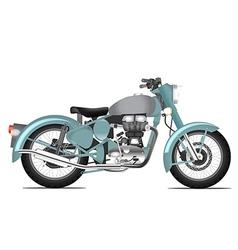 Motorbyke retro style vector image