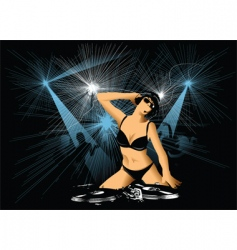 night entertainment vector image vector image