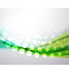abstract flowing wave background vector image vector image