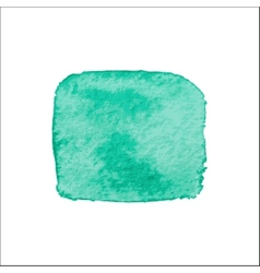 Green Square Watercolor Banner vector image vector image