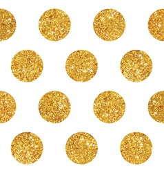 Vintage Geometric Glittery Gold Background vector image vector image