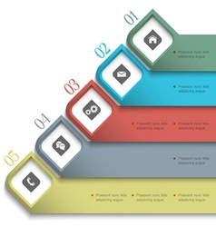 3d banners for web design vector