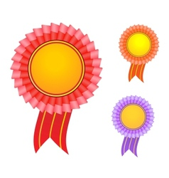 award label vector image vector image