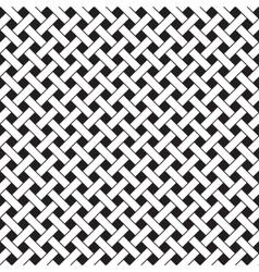 Basket Weave Seamless Pattern vector image