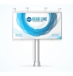 Billboard Concept vector