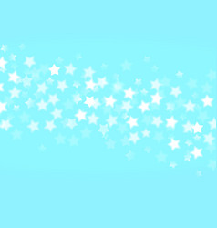 blue background with bokeh lights vector image