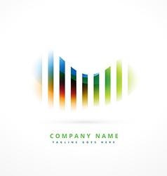 Colorful company logo symbol design vector